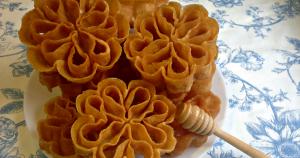 receta flores extremeñas con miel